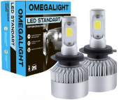 Лампа LED Omegalight Standart H3 2400lm